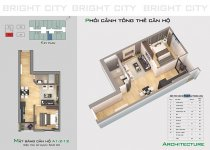 Thiết kế căn hộ A1.2-12