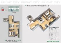 Thiết kế căn hộ A1.2-14