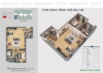Thiết kế căn hộ A1.2-16