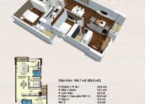 Thiết kế căn hộ 104.7m2