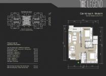 Thiết kế căn hộ A2, A6, A7, A12