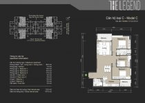 Thiết kế căn hộ C1, C2, C3, C4