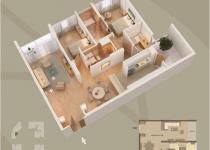 Thiết kế căn hộ 01-A