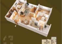 Thiết kế căn hộ 03-A