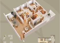 Thiết kế căn hộ 05-A