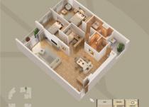 Thiết kế căn hộ 05-B1
