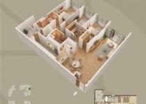 Thiết kế căn hộ 08-B2
