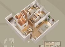 Thiết kế căn hộ 13-C1