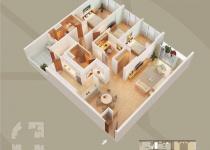 Thiết kế căn hộ 01-D1