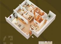 Thiết kế căn hộ 03-D1