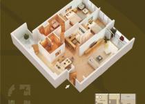 Thiết kế căn hộ 09-D2