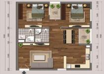 Thiết kế căn hộ C1