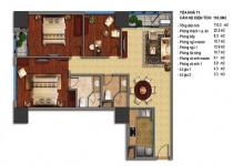 Thiết kế căn hộ T1-02, T1-03, T1-16, T1-17