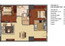 Thiết kế căn hộ T2-01, T2-18