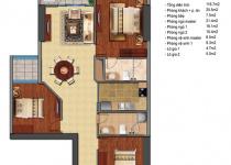 Thiết kế căn hộ T3-06, T3-07, T3-12, T3-12A