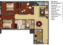 Thiết kế căn hộ T4-02, T4-03, T4-16, T4-17