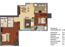 Thiết kế căn hộ T5-07, T5-11