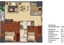 Thiết kế căn hộ T5-01, T5-16