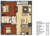 Thiết kế căn hộ T5-08, T5-09