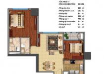 Thiết kế căn hộ T7-06, T7-10