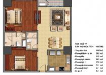 Thiết kế căn hộ T7-08, T7-09
