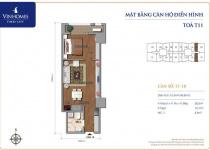 Thiết kế căn hộ 17, 18