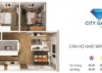 Thiết kế căn hộ 82.50 m2