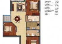 Thiết kế căn hộ T2-06, T2-07, T2-12, T2-12A