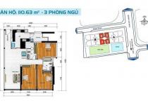 Thiết kế căn hộ 110.63 m2