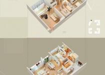 Thiết kế căn hộ 06-4(Duplex)