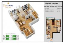 Thiết kế căn hộ 05, 06, 07, 08, 17, 18, 19, 20