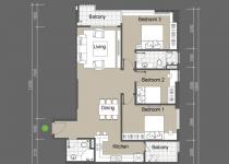 Thiết kế căn hộ C5,C6,C7,C8