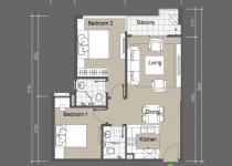 Thiết kế căn hộ A1,A5,A8,A11