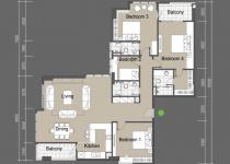 Thiết kế căn hộ A4,A5,B4,B5