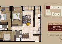 Thiết kế căn hộ số 3
