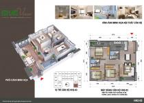Thiết kế căn hộ HH2-03