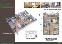 Thiết kế căn hộ HH2-05