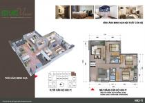 Thiết kế căn hộ HH2-11