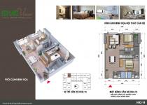 Thiết kế căn hộ HH2-14