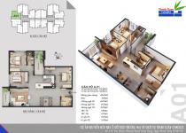 Thiết kế căn hộ A-01
