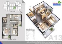 Thiết kế căn hộ A-13