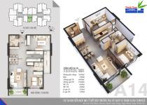 Thiết kế căn hộ A-14
