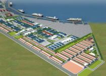 Khu công nghiệp - cầu cảng Phước Đông
