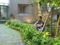 Chiêm ngưỡng ngôi nhà vườn rộng 500m2 của Cao Thái Sơn