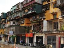 10 năm, Hà Nội cải tạo được 1% chung cư cũ