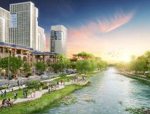 Bất động sản ven sông Sài Gòn đắt khách vì sao?