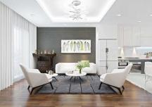 Tư vấn thiết kế phòng khách hiện đại với chi phí dưới 30 triệu đồng