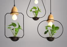 Đèn trang trí hình học cho không gian nội thất thêm cá tính