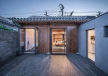 Nhà ngói 40m2 thoáng đãng trong khu phố cổ Bắc Kinh