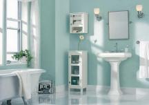 Những màu sơn cho phòng tắm luôn sạch sẽ và tươi sáng
